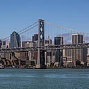 Taking The San Francisco Bay Ferry To Art Print