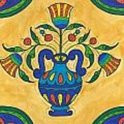 Talavera Flora 2 Art Print