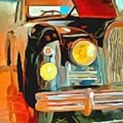Talbot Lago T15 Ql6 Art Print