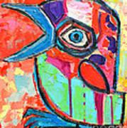 Talkative Baby Bird First This Spring Art Print