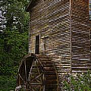 Tall Mill Art Print