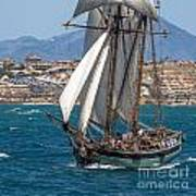 Tall Ship Alicante Art Print