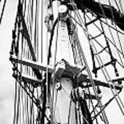 Tall Ship Architecture Art Print