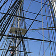 Tall Ship I Art Print