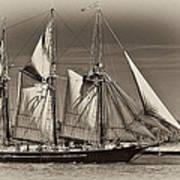 Tall Ship II Art Print