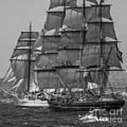 Tall Ship Stad Amsterdam Art Print