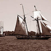 Tall Ships 3 Art Print