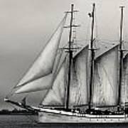 Tall Ships Sailing Boat Art Print