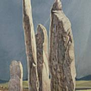 Tall Stones Of Callanish Isle Of Lewis Art Print