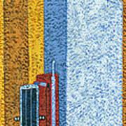 Tall Truck Art Print