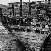 Talmine Shipwreck Art Print