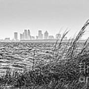 Tampa Across The Bay Art Print by Marvin Spates