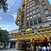 Tampa Theater 2 Art Print by Al Hurley