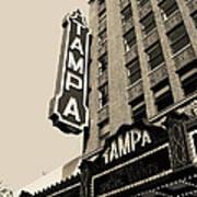 Tampa Theatre Art Print