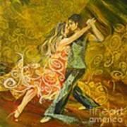 Tango Flow Art Print by Summer Celeste