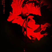 Tango Of Passion For You Art Print