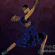 Tango To Heaven Art Print by Pedro L Gili