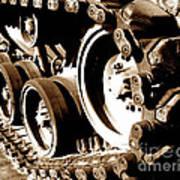 Tank Tracks Art Print