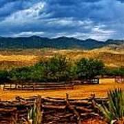 Tanque Verde Ranch Tucson Az Art Print