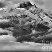 Tantalus Mountain Storms Art Print