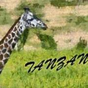 Tanzania Poster Art Print