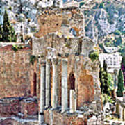 Taormina Amphitheater Art Print