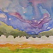 Taos Fields Art Print