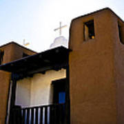 Taos Pueblo Church 2 Art Print