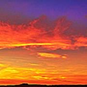 Taos Sunset Xxxx Art Print