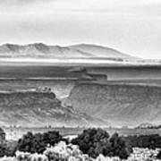 Taos Volcanic Plateau Art Print