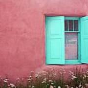 Taos Window I Art Print