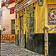 Tapas Bar In Sevilla Spain Art Print