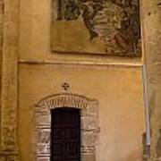Tapestry Wall At Church Of The True Cross Art Print