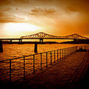 Tappan Zee Bridge I Art Print