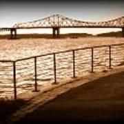 Tappan Zee Bridge Ix Art Print