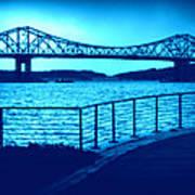 Tappan Zee Bridge Vii Art Print