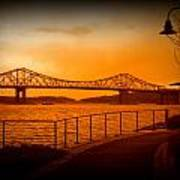 Tappan Zee Bridge Viii Art Print