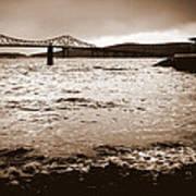 Tappan Zee Bridge X Art Print