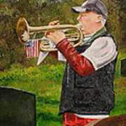Taps For Troops Art Print