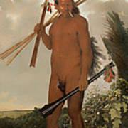 Tarairui Man Art Print