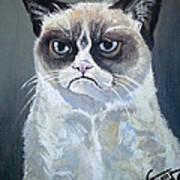 Tard - Grumpy Cat Art Print
