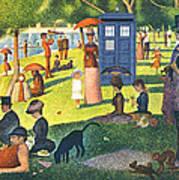 Tardis V Georges Seurat Art Print