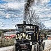 Tarmac Steam Wagon 1 Art Print