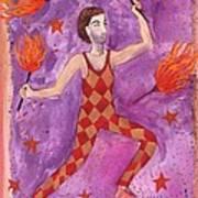 Tarot 1 The Juggler Art Print