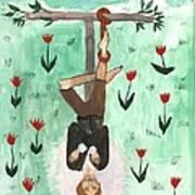 Tarot 12 The Hanged Man Art Print