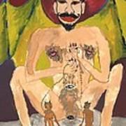 Tarot 15 The Devil Art Print
