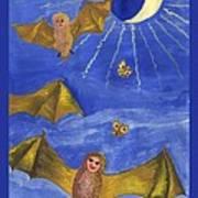 Tarot 18 The Moon Art Print