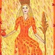 Tarot 3 The Empress Art Print