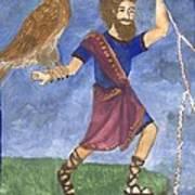 Tarot 5 Jupiter Art Print