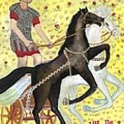 Tarot 7 The Chariot Art Print